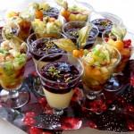 Fruchtige Dessert